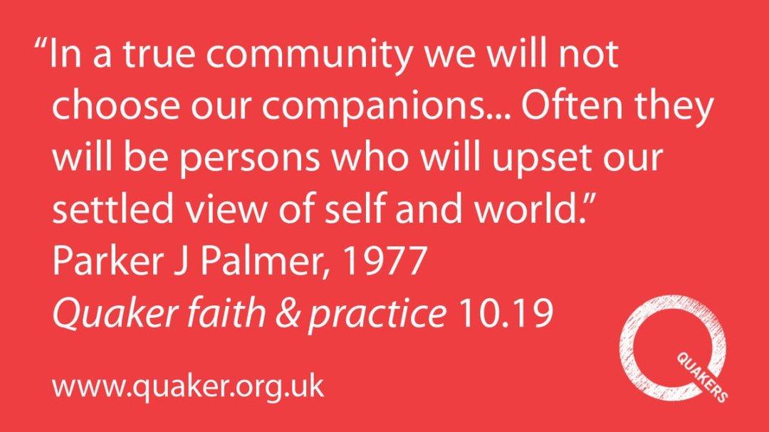Parker Palmer on Conflict